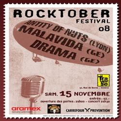 Rocktober festival Genève : 10 places à gagner. 5