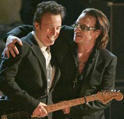 Bruce Springsteen et U2 ensemble sur scène 14