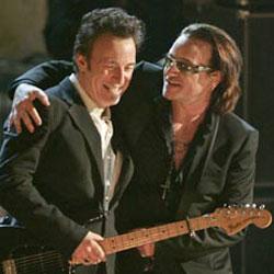 Bruce Springsteen et U2 ensemble sur scène 5