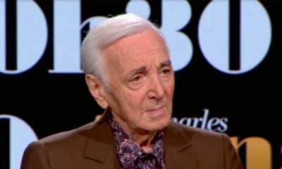 Charles Aznavour face à Laurent Delahousse