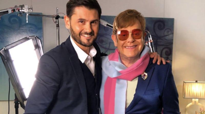 Elton John se lance dans le cinéma et présente son premier film