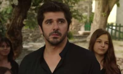 """Patrick Fiori au casting de la série de TF1 """"Demain nous appartient"""""""