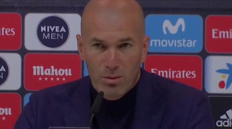 Zinédine Zidane annonce sa démission à la surprise générale