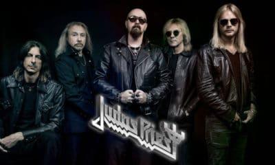 Le groupe Judas Priest en concert le 27 janvier 2019 à Paris
