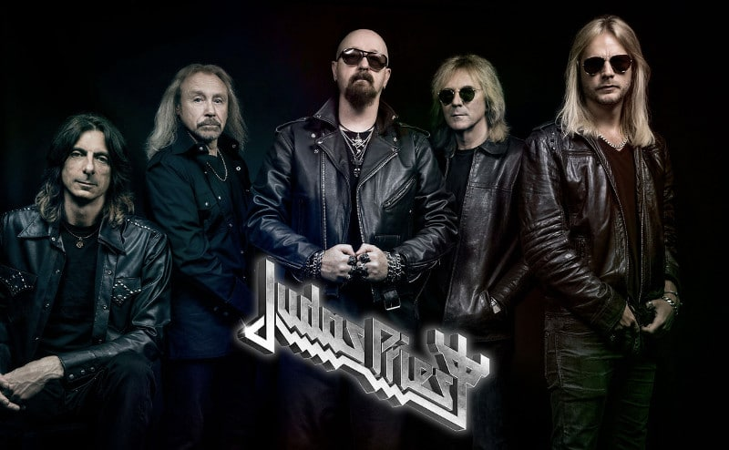 Le groupe Judas Priest en concert le 27 janvier 2019 à Paris