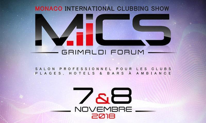 Cette année, la neuvième édition du Monaco International Clubbing Show se déroulera du 8 au 9 novembre 2018