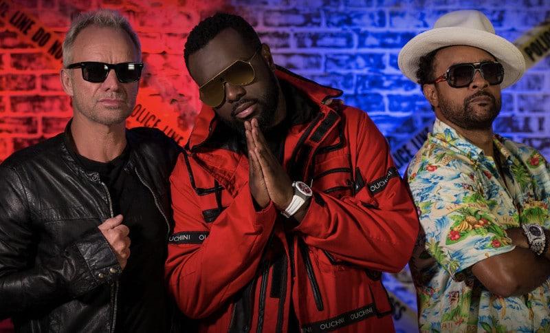"""Sting & Shaggy sont de retour avec Maître Gims pour un nouveau single intitulé """"Gotta Get Back My Baby"""""""