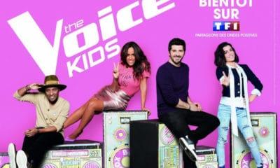 La cinquième saison de The Voice Kids débute le 12 octobre