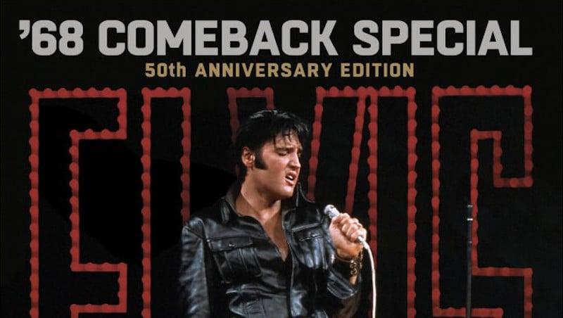 """Le mythique """"'68 Comeback Special"""" d'Elvis Presley fête ses 50 ans sous la forme d'un coffret Deluxe"""