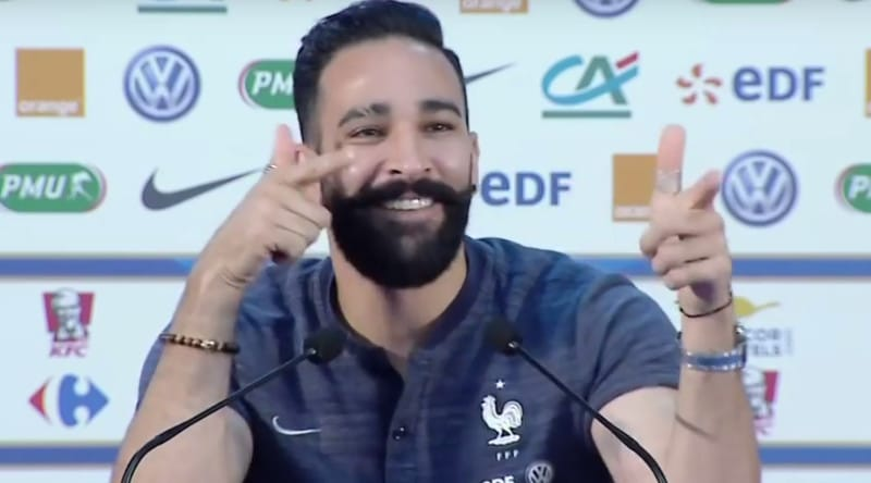 Le tout récent champion du monde, Adil Rami, s'est confié sur son envie de devenir entraineur