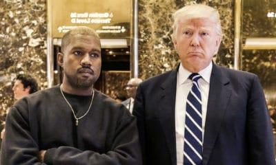 Kanye West semble revenir sur le soutien qu'il affiche à Donald Trump depuis son élection