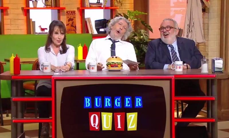Les Nuls se sont retrouvés sur le plateau du Burger Quiz pour une soirée riche en humour