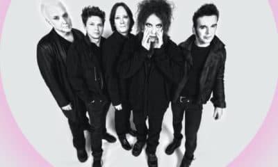 Le groupe britannique The Cure en concert le 23 août 2019 au festival Rock en Seine