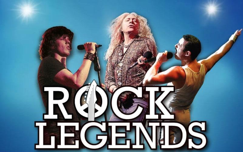 Grâce à la tournée Rock Legends, les fans de rock vont pouvoir revivre des concerts de légende