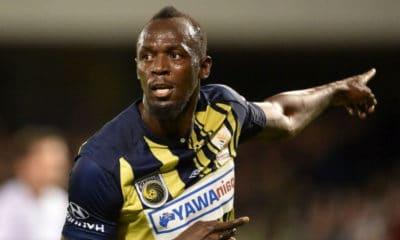 La reconversion de l'homme le plus rapide du monde dans le foot professionnel semble sur la bonne voie grâce à ses 2 premiers buts