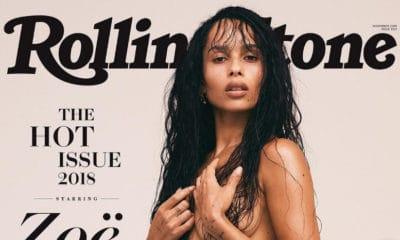 Découvrez la fille de Lenny Kravitz totalement nue en couverture du magazine Rolling Stone