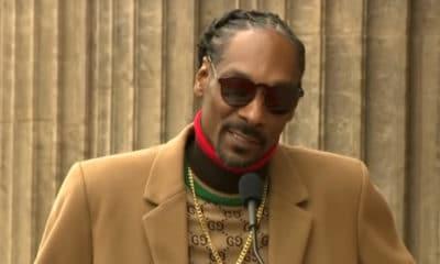 Ce lundi 19 novembre, Snoop Dogg a tenu à se rendre un hommage vibrant dans une allocution pleine d'ironie