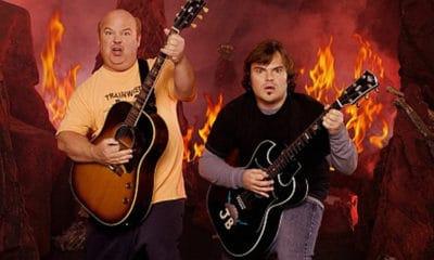 """Jack Black et Kyle Gass sont de retour avec leur groupe Tenacious D pour un nouvel album baptisé """"Post-Apocalypto"""""""