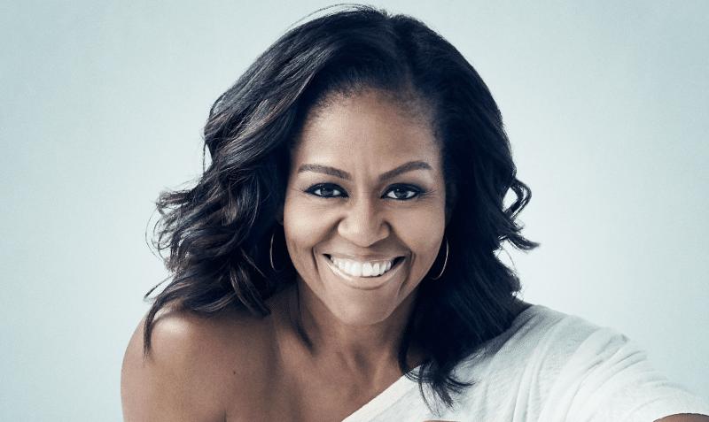 Michelle Obama le 16 avril 2019 à Paris