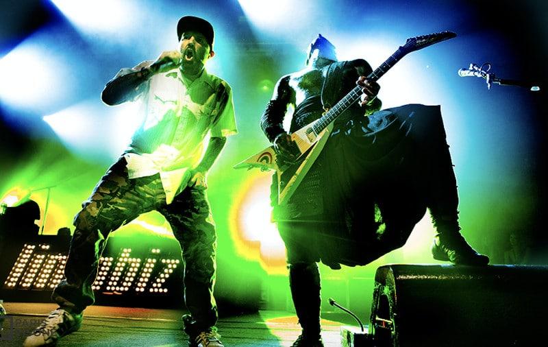 Limp Bizkit en concert le 6 juillet 2019 à l'Olympia