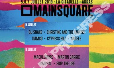 Le Main Square Festival vient de dévoiler les 14 premiers artistes à l'affiche de son édition 2019