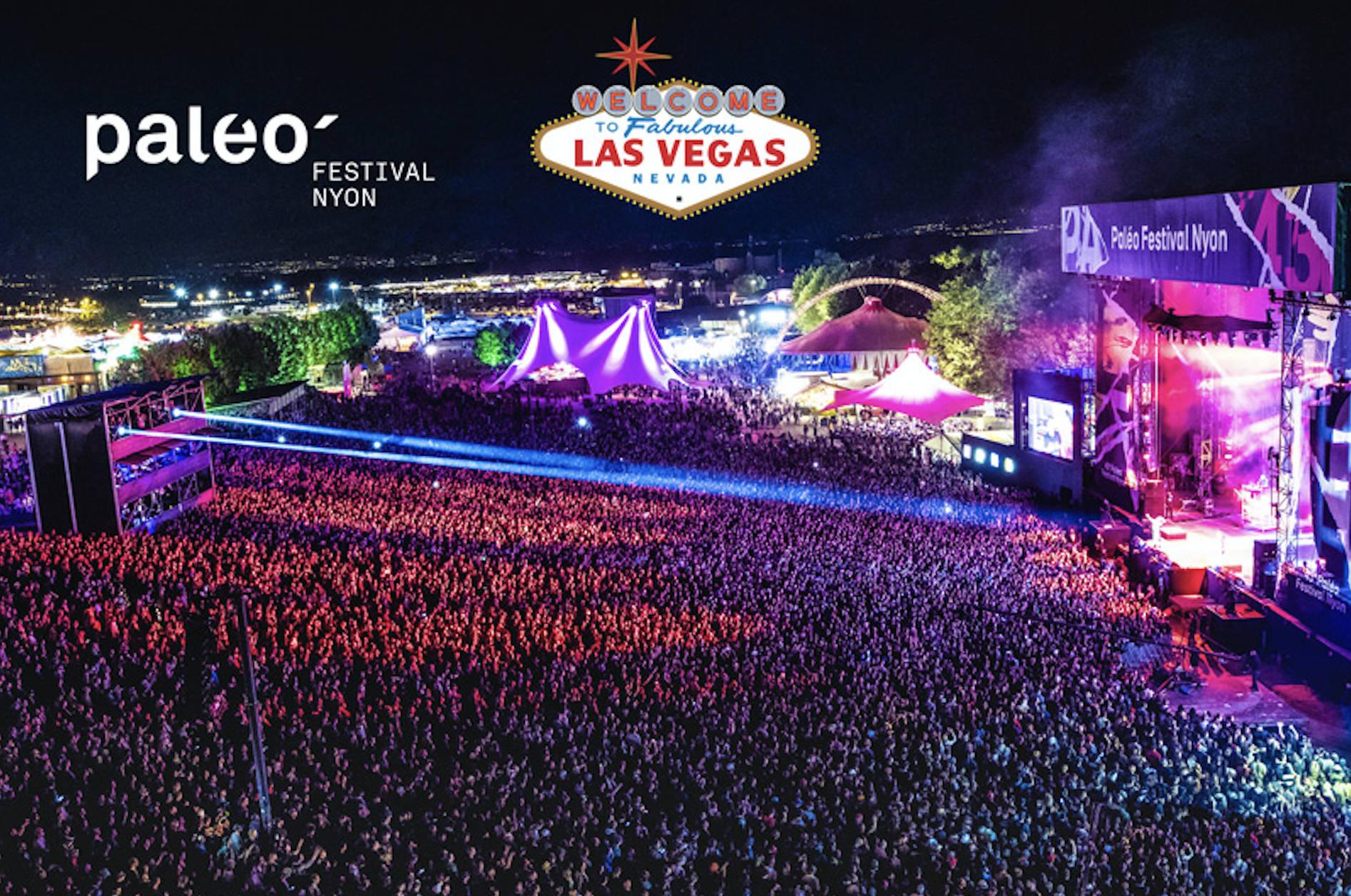 Le Paléo Festival innove encore avec une nouvelle création digitale