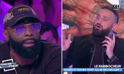 Booba et Kaaris se clash en direct chez Cyril Hanouna