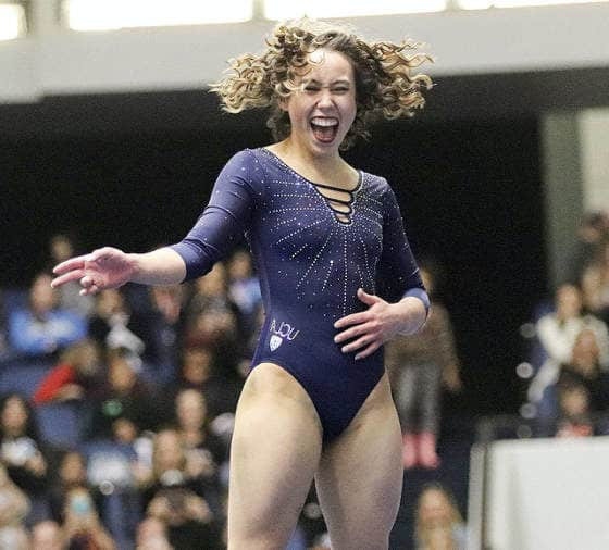 Découvrez Katelyn Ohashi, la gymnaste qui dépoussière son sport en musique