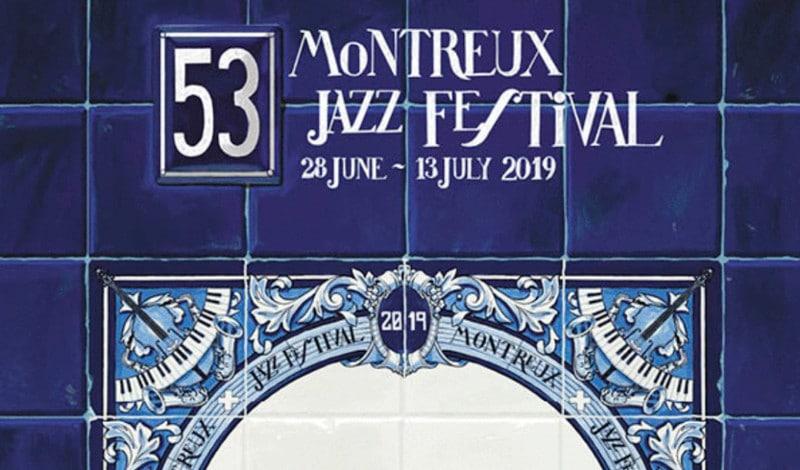Ignasi Monreal signe trois affiches pour incarner le Montreux Jazz Festival 2019