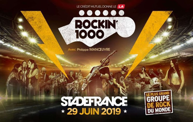 Le plus grand groupe de rock du monde le 29 juin 2019 au Stade de France