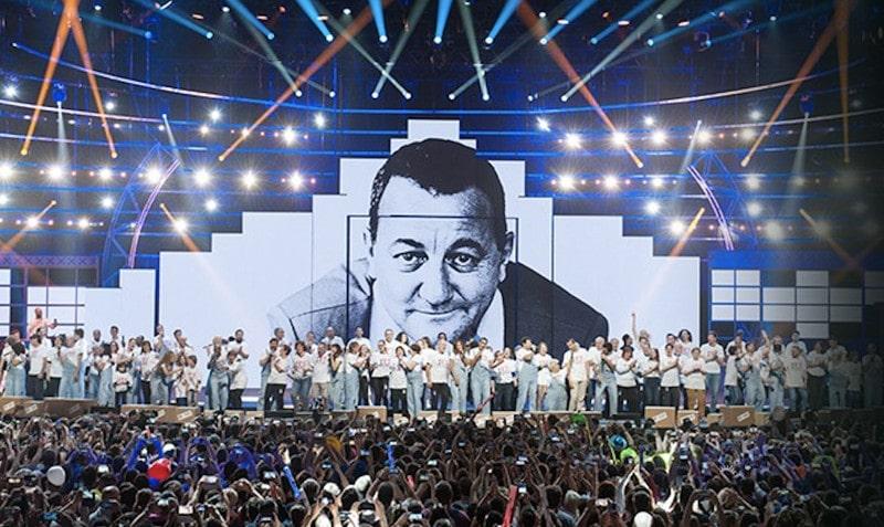 Le spectacle des Enfoirés diffusé sur TF1 le 8 mars 2019