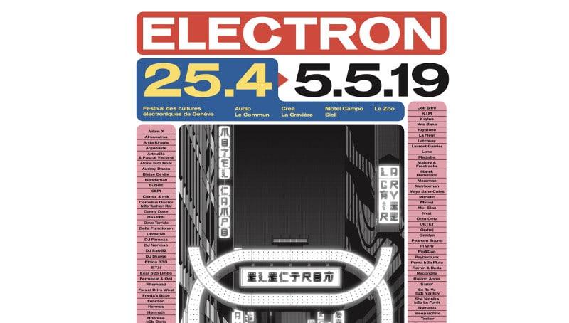 Découvrez le programme complet du Festival Electron