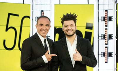 Nikos Aliagas reçoit Kev Adams dans « 50' Inside »