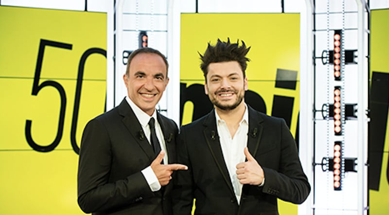 Nikos Aliagas reçoit Kev Adams dans « 50' Inside »