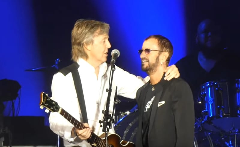 Retrouvailles surprise entre Paul McCartney et Ringo Starr