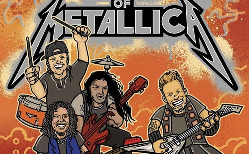 Metallica publie un livre illustré pour les enfants