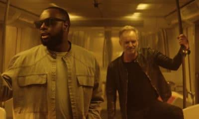 Maître Gims & Sting dévoilent enfin le clip de « Reste »