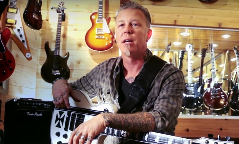 Le chanteur de Metallica en cure de désintoxication