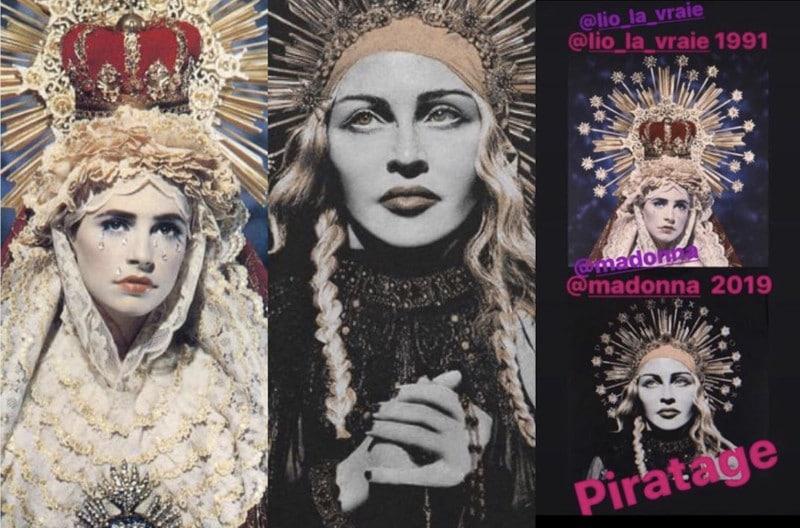 Lio accuse Madonna de s'être inspirée d'une œuvre la représentant