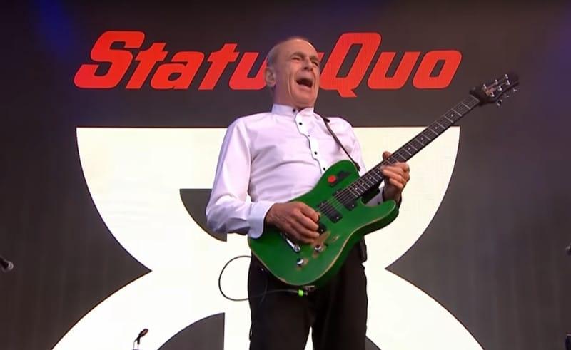 Status Quo en concert à Strasbourg, Paris et Lyon en novembre 2020
