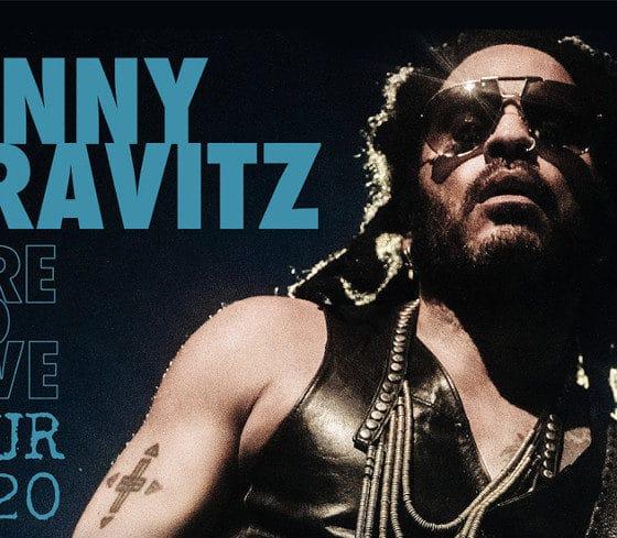 Lenny Kravitz à l'AccorHotels Arena le 21 juin 2020