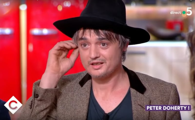 Pete Doherty arrêté à Paris et placé en garde à vue