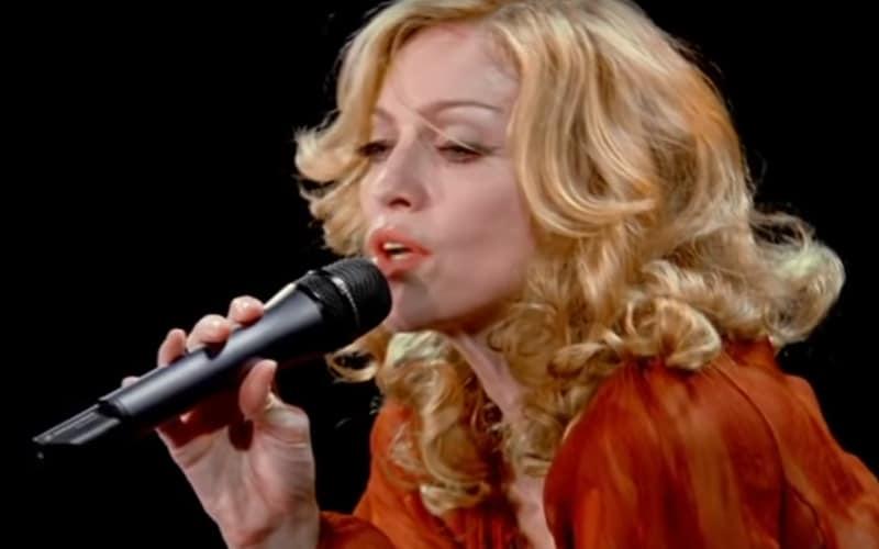 Madonna concert Paris