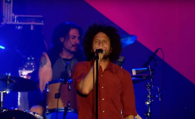 Le groupe Rage Against The Machine Coachella
