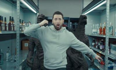 Eminem clip Godzilla