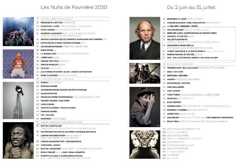 Nuits de Fourvière 2020