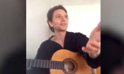 Chanteur Raphaël Facebook Live