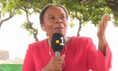 Christiane Taubira se lâche sur David Bowie en plein direct