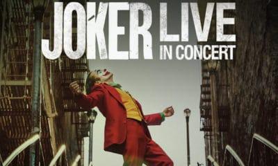 Le ciné-concert du Joker se tiendra finalement en 2021