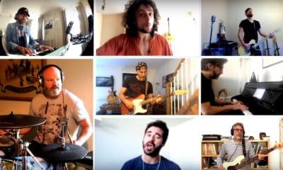 Philippe Etchebest reprend « Under Pressure » de Queen avec son groupe